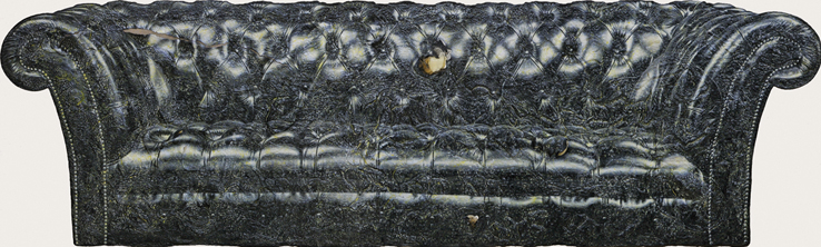 Acryl und auf Leinwand, 90 x 300 cm