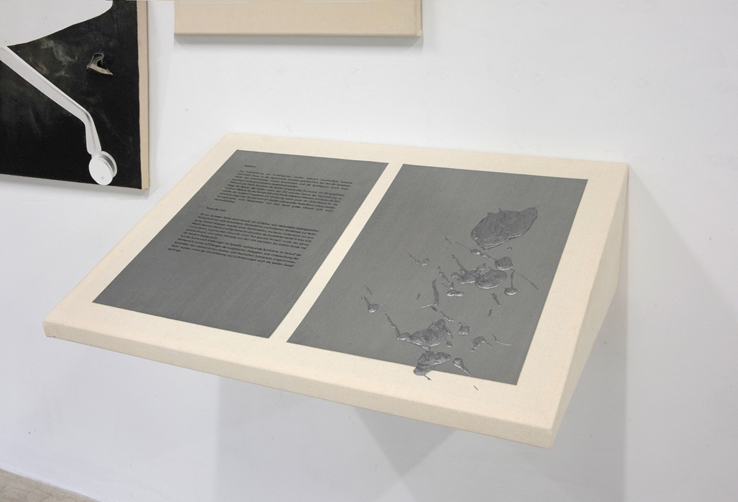 Acryl auf Baumwolle, 68 x 42x 18 cm