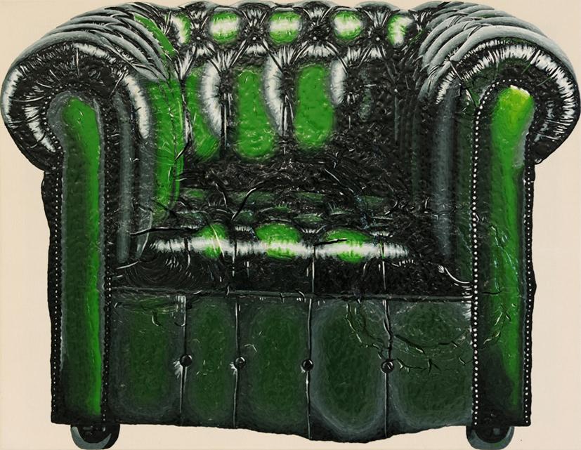 Acryl auf Baumwolle, 85cm x 110cm