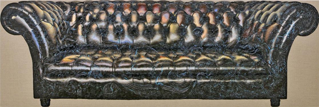 Acryl auf Leinwand, 80cm x 250 cm