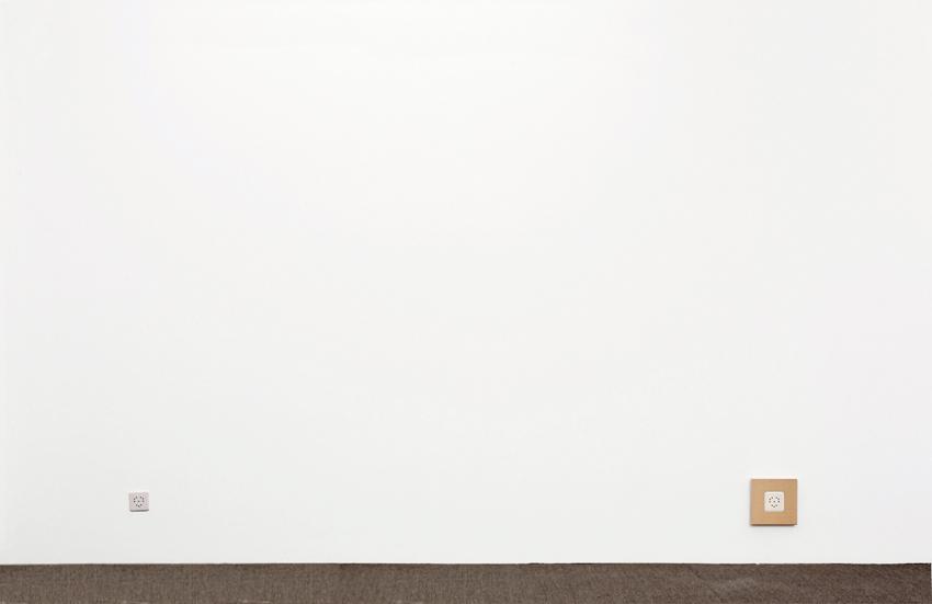 Acryl auf Baumwolle, 20cm x 20cm